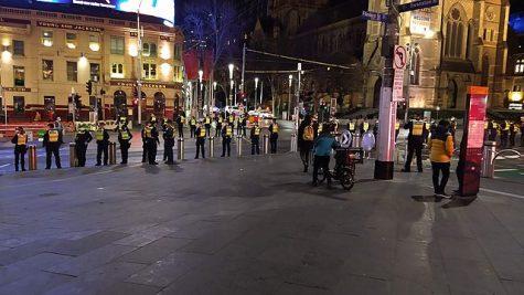 Severe lockdown in Australia