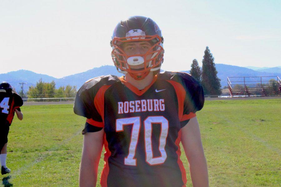 Bracen Parker - frosh/soph football player